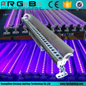 방수 IP65 DMX 통제 27LEDs 3W 옥외 LED UV 벽 세탁기 빛