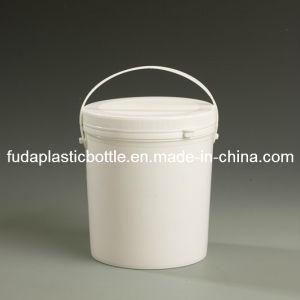 E80 500g cubo de plástico con asa para los productos químicos