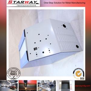 Индивидуальные занятия в мастерской по изготовлению металлических металлическую коробку с порошковое покрытие серого цвета
