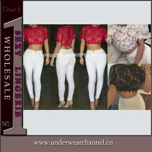 Un merletto floreale delle 2015 le più nuove di disegno donne alla moda di estate supera (TKYA203)