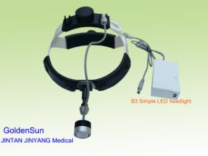 携帯用Entヘッド軽い歯科ライトLEDヘッドライトの正面ヘッドランプ