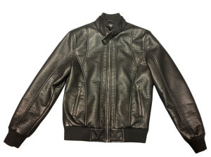 Men's PU Jacket with Bubble Leather (0010)