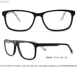 Het hete Verkopende Optische Frame Van uitstekende kwaliteit van Eyewear van de Acetaat van de Voorraad