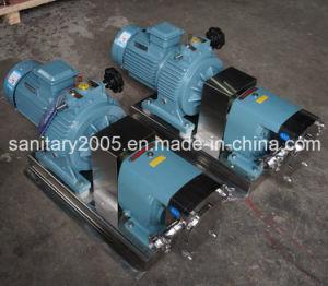 Steel di acciaio inossidabile Sanitary Rotary Pump per High Viscosity Material