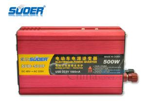 Suoer 500W Veículo Eléctrico Inversor de energia DC 48 V AC 220V (SUB-500F)