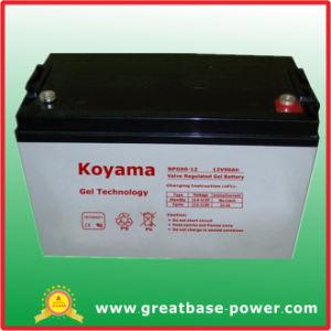 Marina de 12V 90Ah batería Batería de gel