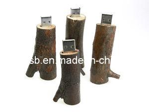 木USBのフラッシュ駆動機構