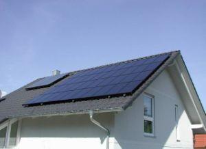 PV inclinação do Sistema de Fixação do Teto Solar