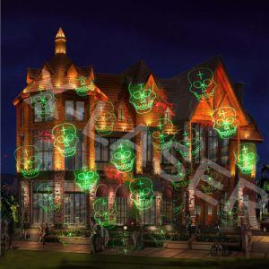 Halloween屋外の軽いプロジェクター、販売のためのPlamの木の装飾的なライト