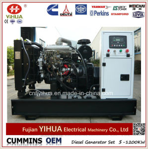 groupe électrogène diesel de 36kw/45kVA Foton Isuzu avec l'engine 4jb1ta (16-36kW)
