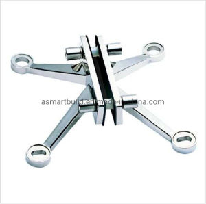 L250una serie de acero inoxidable 316 araña de cristal de montaje de hardware para Point-Fixed muro cortina de vidrio