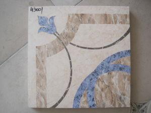 (43002) mattonelle della parete del pavimento del getto di inchiostro di 500X500mm lustrate