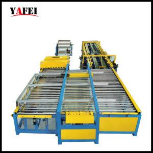 Ventilations-Leitung, die Maschine für die quadratische Gefäß-Herstellung bildet
