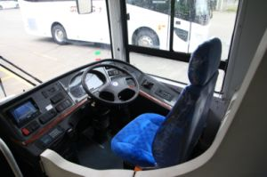 Bus basso diesel della città del pavimento di nuovo disegno 2017 (Slk6189)