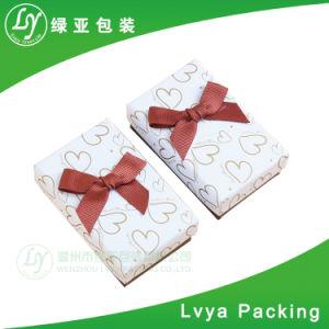 La joyería de regalo de lujo en cajas de embalaje para el anillo, Pendientes, pulsera, collar
