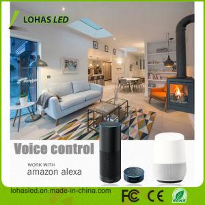 Tuya WiFi GoogleのホームをスマートなつくDimmable E27 9W RGBW WiFiスマートなLEDの球根の使用