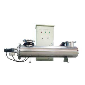産業及び商業水消毒のためのSS304/316紫外滅菌装置