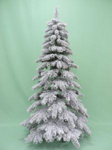 7FTのホーム装飾の人工的なクリスマスはPVCギフトの木を群がらせた