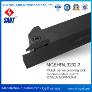 Outil à tronçonner indexable&rainurage Mgehr3232-3 avec Mgmn300-M Insert