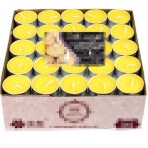 Tealight Kerze-Pfosten-Votive Glasglas-duftendes Aroma-Paraffinwachs