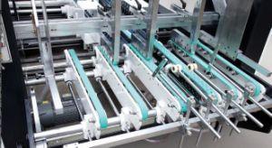 중국 완전히 자동적인 물결 모양 상자 폴더 Gluer 기계 (GK-1800PCS)