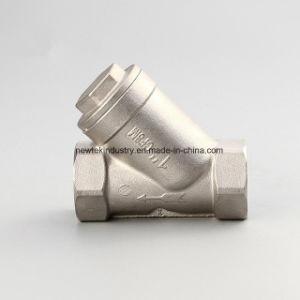 Tipo setaccio Bsp/NPT filettato Fxf dell'acciaio inossidabile Y della maglia