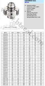 カートリッジ機械シールB730 1