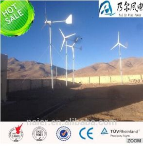 5kw 220V solar y generador de turbina de viento para el uso casero
