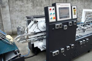 Boîte d'emballage en carton ondulé Making Machine avec Crash Verrouillage du fond (GK-1100GS)
