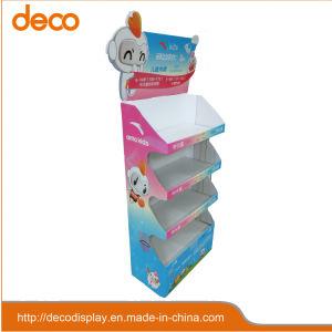 Gewölbtes Papier-Bildschirmanzeige-Pappbildschirmanzeige Stamd für Baby-Kleidung