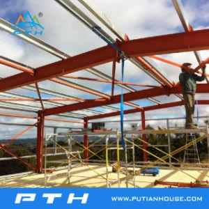 Pendiente de una sola estructura de acero prefabricados para la construcción de garaje