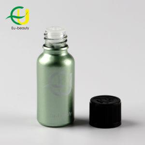 15ml de vidrio verde botella con tapa para niños