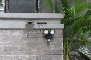 LEDの壁ライトセリウム、RoHSの証明書が付いている太陽庭ライト