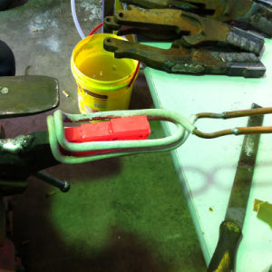 판매를 위한 금관 악기 열처리 유도 가열 기계