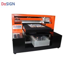 Fabbrica in tessile nera di riserva della stampante della maglietta direttamente al panno Imprimante