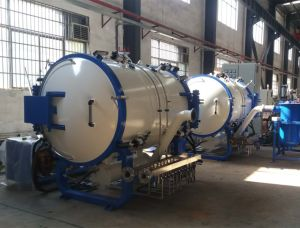 Nueva calidad estable al calor del horno de tratamiento de inducción