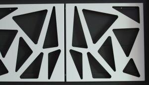 De laser sneed de Decoratieve Comités van het Scherm van het Metaal