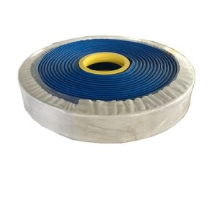 Mangueira de descarga de água colapsável PVC azul Mangueira Layflat
