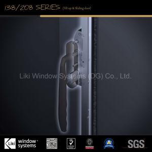 호화스러운 격리한 알루미늄 무거운 & Ss 강철 그물을%s 가진 미닫이 문 든다 위로