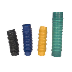 China alimentación de la fábrica de goma elástica funda tubo corrugado