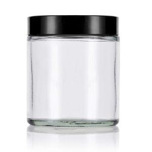 gerades seitliches freies Glaskraut-Glas der nahrung8oz