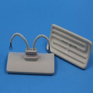 長い耐用年数122mm x 60mm半分の平らな空の陶磁器IRのヒーター