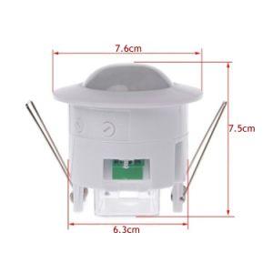 Innen-PIR Infrarotbewegungs-Fühler-Schalter-Detektoren mit 360 Grad