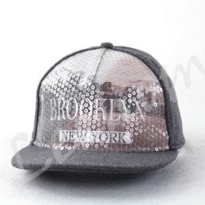 ジャージーはヒースの灰色の急な回復Caps&Hatsを編んだ
