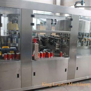 2 en 1 Lata automática Máquina de Llenado de jugo líquido ce