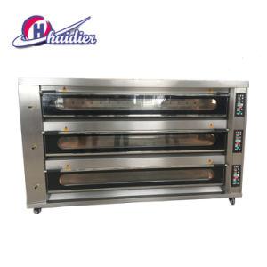 Goed Enig Dek 2 van het Gas van de Prijs de Oven van het Baksel van het Gas van Dienbladen voor Brood