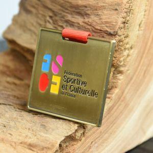 供給の習慣の試供品のフィニッシャーの骨董品の銅メダル