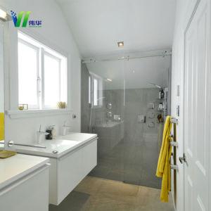 安全シャワー室のための明確な浴室の緩和されたガラスのドア