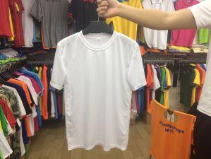 Prix bon marché 100% polyester 120T-Shirt GSM pour la campagne électorale