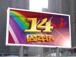 Piscine plein écran LED de couleur (P6 de la vidéo de la publicité commerciale)